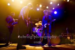 """Peter Doherty And The Puta Madres"", Pete Doherty – lead vocals, rhythm guitar, sitar, lyrics, Jack Jones – lead guitar, Miggles – bass, Konzert, ASTRA, Berlin, 19.05.2019"