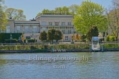 """""""Haus Zenner"""" Ausflugsrestaurant mit Musikrestaurant  """"Eierschale"""" und Biergarten, im Treptower Park, """"STADTANSICHTEN"""", Berlin, 22.04.2020"""
