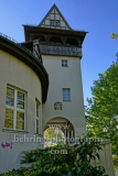 "Brueckenhaus (Kulturhaus Insel Berlin e.V.) auf der Insel der Jugend im Treptower Park, ""STADTANSICHTEN"", Berlin, 23.04.2020"