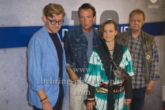 "Autor und Regisseur Christian Bach, Maria Simon, Lucas Gregorowicz, Fritz Roth, ""POLIZEIRUF110 - HEIMATLIEBE"" (am 25. August 2019 um 20.15 Uhr in der ARD), Photo Call, Cinema Paris, Berlin, 20.08.2019"