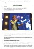 Berliner Morgenpost vom 04.10.19: David Hasselhoff in der Max-Schmeling-Halle,  Abdruck 2019