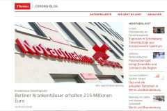 rbb24 vom 16.09.2020 - Berliner Krankenhäuser