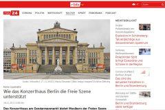 rbb24 vom 18.11.2020 - Wie das Konzerthaus...