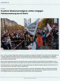aerzteblatt, 26.11.2020: Maskenverweigerer in Berlin