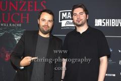 """David Brückner (Regisseur, Produzent, Editor) und Mario von Czapiewski (Autor), """"RAPUNZELS FLUCH"""", Weltpremiere, UCI LUXE Mercedes Platz, Berlin, 31.07.2020"""