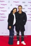"""Katja Woywood und Marco Girnth, """"RATE YOUR DATE"""" (ab 07.03.2019 im Kino), Roter Teppich zur Premiere im Cine Star im SONY CENTER, Berlin, 26.02.2019"""