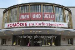 """""""Komoedie. Stadt. Strand"""", Neustart nach der Corona-Pause in der Komoedie am Kurfuerstendamm im Schiller Theater, Berlin, 09.08.2020,"""