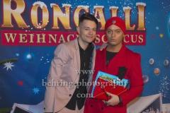 """""""Roncalli Weihnachtscircus"""" (19.12.19 - 05.01.2020), Photocall am Roten Teppich zur Premiere, Tempodrom, Berlin, 19.12.2019"""