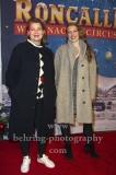 """""""Roncalli Weihnachtscircus"""" (21.12.2018 - 06.01.2019 ), Schauspielerin Birge Schade und Begleitung, Photo Call am Roten Teppich zur Premiere, Tempodrom, Berlin, 22.12.2018,"""