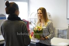 Verabschiedung von unserer Ausbilderin Swantje, AFZ, Alter  Hafen Sued, Rostock, 14.04.2018 (Photo: Christian Behring)