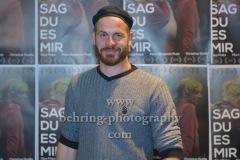 """Marc Ben Puch, """"SAG DU ES MIR"""" (bundesweiter Kinostart: 15.10.2020), Photocall zur Kinostartpremiere, CineStar Kino in der Kulturbrauerei, Berlin, 14.10.2020,"""