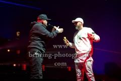 """""""SAVAS UND SIDO"""", ROYAL BUNKER TOUR, Konzert in der Max-Schmeling-Halle, Berlin, 13.01.2018,"""