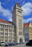 """Peter-Behrens-Bau, heute: Comer Business Park, """"STADTANSICHTEN"""", Ostendstraße 1–4 / Ecke Wilhelminenhofstraße, Berlin, 07.05.2020"""