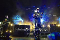 """Ace (Gitarre), Skin (Gesang), Mark (Drums), """"SKUNK ANANSIE"""", Konzert, Columbiahalle, Berlin, 21.07.2019, Fotos nur zur Veroeffentlichung in der BerlinerMorgenpost!"""