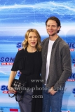 """Marisa Leonie Bacuh und August Wittgenstein, """"SONIC Fan and Family Event"""", Blue Carpet Photocall, Zoo Palast, Berlin, 28.01.2020,"""