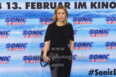 """Marisa Leonie Bach, """"SONIC Fan and Family Event"""", Blue Carpet Photocall, Zoo Palast, Berlin, 28.01.2020,"""