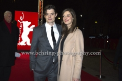 "Sam Riley (Schauspieler/ Actor), Alexandra Maria Lara, attends the ""SS-GB"" Red Carpet at the 67th BERLINALE, Berlin, 14.02.2017"