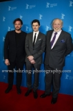 "Ronald Zehrfeld (Schauspieler/ Actor), Sam Riley (Schauspieler/ Actor), James Cosmo (Schauspieler/ Actor), attends the ""SS-GB"" Red Carpet at the 67th BERLINALE, Berlin, 14.02.2017"
