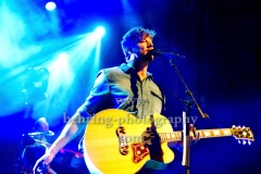 "Sunrise Avenue, Samu Haber (Gesang, Gitarre), ""Heartbreak Century""-Tour 2017, Konzert im Kesselhaus, Berlin, 06.11.2017,"