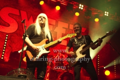 "Andy Scott (Gitarre), Peter Lincoln (Gesang, Bass), ""The SWEET"", Konzert, Columbiahalle, Berlin, 21.05.2019"