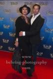 "Anouschka Renzi mit neuem Freund Marc Zabinski, ""That`s Life - Das Sinatra-Musical"", Photocall Roter Teppich zur Premiere, Theater Am Potsdamer Platz, Berlin, 08.01.2020"