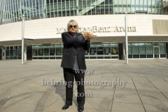 """The Armed Man: A Mass for Peace"", Pressetermin, mit Dirigent und Komponist Sir Karl Jenkins, Mercedes-Benz-Arena, Mercedes-Platz, Berlin, 17.09.2018  (Photo: Christian Behring)"