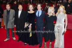 "Sally Potter (Regisseurin, Drehbuchautorin/Director, Screenwriter), Patricia Clarkson (Schauspielerin/ Actress), Kristin Scott Thomas (Schauspielerin/ Actress), Bruno Ganz (Schauspieler/ Actor), Timothy Spall (Schauspieler/ Actor), Cillian Murphy (Schauspieler/ Actor), attends the ""THE PARTY"" Red Carpet at the 67th BERLINALE, Berlin, 13.02.2017"