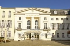 """Deutsches Theater in der Schumannstrasse 13a, """"STADTANSICHTEN"""", Berlin, 04.04.2020"""