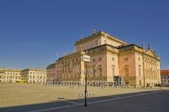 """Deutsche Staatsoper Unter den Linden, """"verwaiste Plätzeund Orte"""", Berlin, 23.03.2020"""
