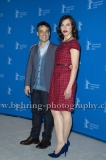"Sebastian Lelio (Regisseur, Drehbuchautor/ Director, Screenwriter), Daniela Vega (Schauspielerin/ Actress), attends the ""Una Mujer Fantastica"" Photo Call at the 67th BERLINALE, Berlin, 12.02.2017"