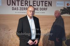 """Regisseur Matti Geschonneck, """"UNTERLEUTEN""""(im ZDF am 9., 11., 12.03,2020), Preview, Vertretung des Landes Brandenburg beim Bund, Berlin, 18.02.202 (Photo: Christian Behring)"""