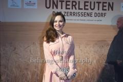 """Mina Tander, """"UNTERLEUTEN""""(im ZDF am 9., 11., 12.03,2020), Preview, Vertretung des Landes Brandenburg beim Bund, Berlin, 18.02.202 (Photo: Christian Behring)"""