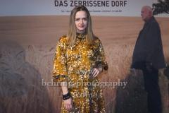 """Sarina Radomski, """"UNTERLEUTEN""""(im ZDF am 9., 11., 12.03,2020), Preview, Vertretung des Landes Brandenburg beim Bund, Berlin, 18.02.202 (Photo: Christian Behring)"""
