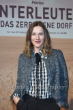 "Bettina Lamprecht, ""UNTERLEUTEN""(im ZDF am 9., 11., 12.03,2020), Preview, Vertretung des Landes Brandenburg beim Bund, Berlin, 18.02.202 (Photo: Christian Behring)"