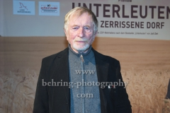 "Hermann Beyer, ""UNTERLEUTEN""(im ZDF am 9., 11., 12.03,2020), Preview, Vertretung des Landes Brandenburg beim Bund, Berlin, 18.02.202 (Photo: Christian Behring)"