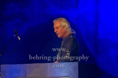"""URIAH HEEP"", Bernie Shaw (Gesang), Mick Box (Gitarre), Davey Rimmer (Bass), Russell Gilbrook (Schlagzeug), Phil Lanzon (Keyboard), Konzert, Admiralspalast, Berlin, 16.11.2018 (Photo: Christian Behring)"