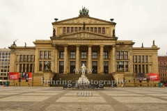 "Konzerthaus am Gendarmenmarkt, ""verwaiste Orte wegen Corona-Virus"", Berlin, 19.03.2020"