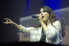"""WITHIN TEMPTATION"", Sharon Janny den Adel (Gesang), Konzert in der Columbia Halle, Berlin, 08.12.2018,"