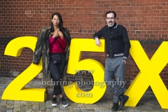 "Minh-Khai Phan-Thi und Oscar Ortega Sanchez, ""25 JAHRE X FILME"", Jubilaeumsparty, RADIALSYSTEM V, Berlin, 20.09.2019 (Photo: Christian Behring)"
