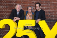 "Wolfgang Becker, Tom Tykwer, Dani Levy, ""25 JAHRE X FILME"", Jubilaeumsparty, RADIALSYSTEM V, Berlin, 20.09.2019 (Photo: Christian Behring)"
