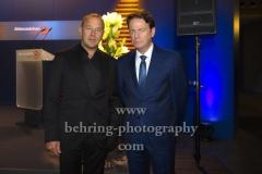 "Heino Ferch und Rudi Cerne, ""XY-Preis 2019"", 18. Preisverleihung, ZDF-Hauptstadtstudio, Berlin, 20.11.2019"