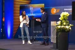 "Amy Mussul, ""XY-Preis 2019"", 18. Preisverleihung, ZDF-Hauptstadtstudio, Berlin, 20.11.2019"