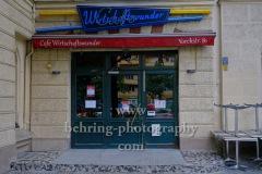 """""""Cafe Wirtschaftswunder"""" in der Yorckstrasse 81, """"Kreuzberg"""", Berlin, 18.07.2020"""