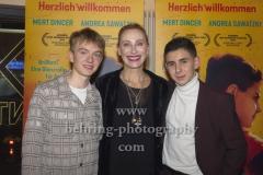 "Laurids Schuermann, Andrea Sawatzki, Mert Dincer, ""ZOROS SOLO"" (ab 24.10.19 im Kino), Berlin-Pemiere, Kant Kino, Berlin, 25.10.2019"