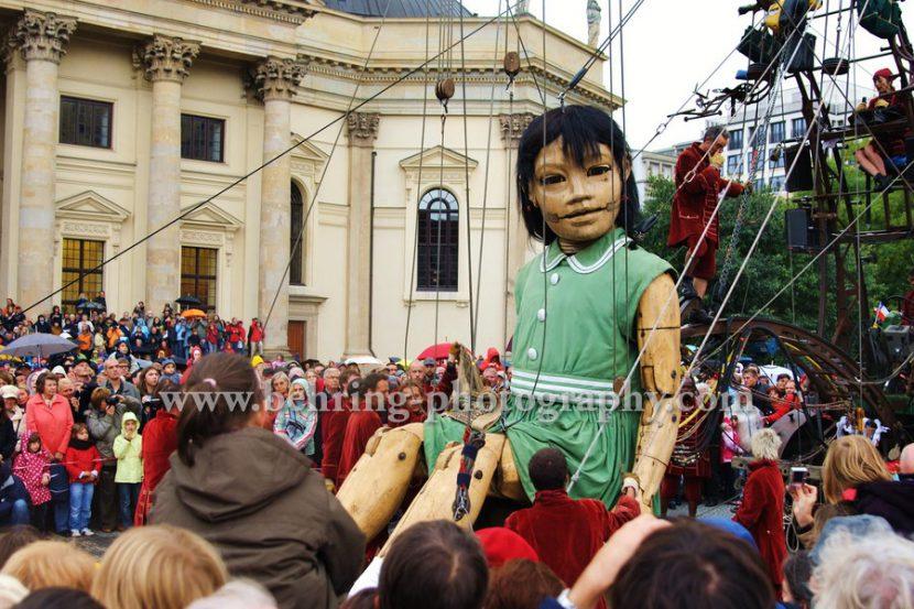 Die Riesen in Berlin, 02.10.2009