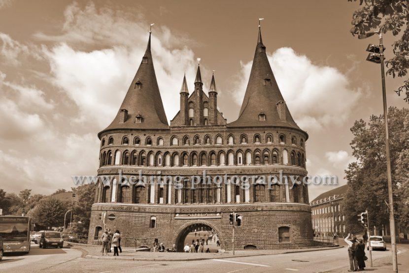 Lübeck, das Holstentor, 12.08.2014