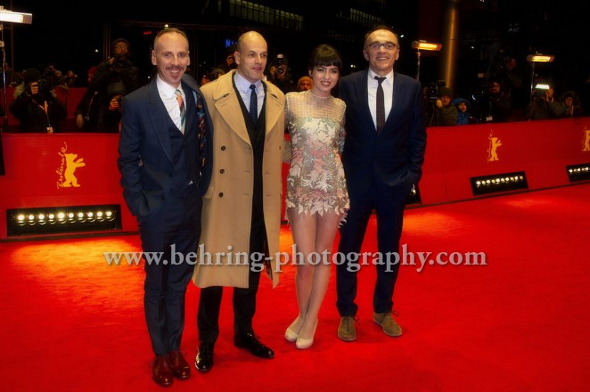 """T2 Trainspotting"", Red Carpet, 67. BERLINALE, 10.02.2017"