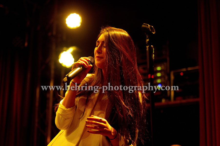 ELIF, Concert at the LIDO in Berlin, Germany, on January 24, 2014 (Photo: Christian Behring)