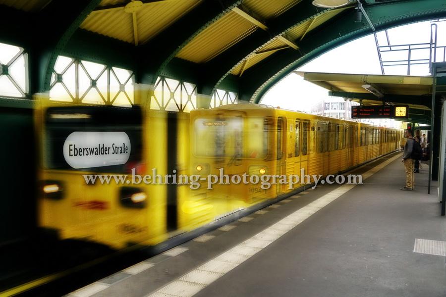 U-Bahnhof Eberswalder Strasse, Berlin Prenzlauer Berg, 03.08.2017