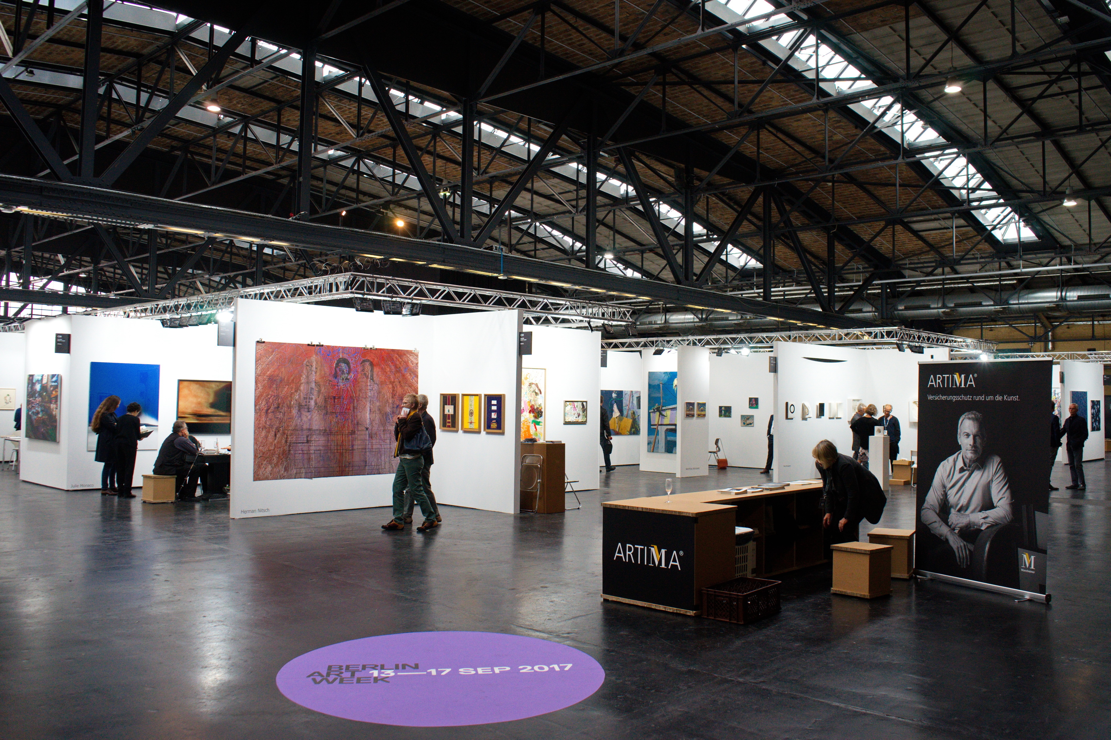 POSITIONS, Berlin Art Fair, ARENA, Berlin, 14.09.2017
